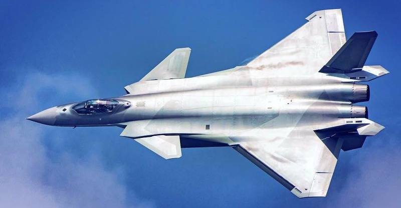 Chengdu J-20 is the 5th generation jet fighter
