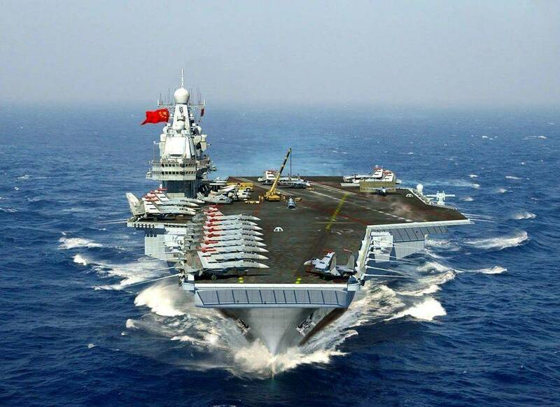 Who has the largest Navy in the world?: China