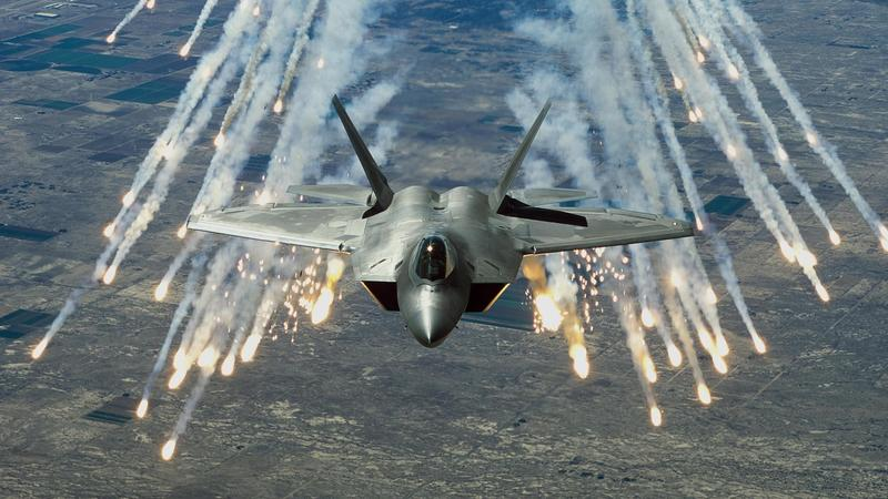 Most advanced Lockheed Martin F-22 Raptor missiles
