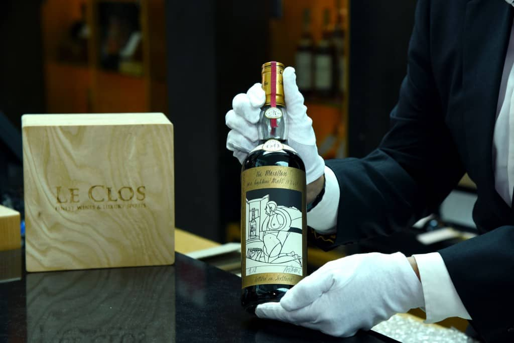 most expensive scotch in the world
