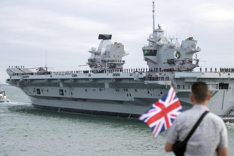 British Royal Navy in world navy ranking 2021