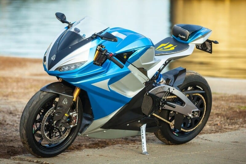 fastest electric motorcycle 2021